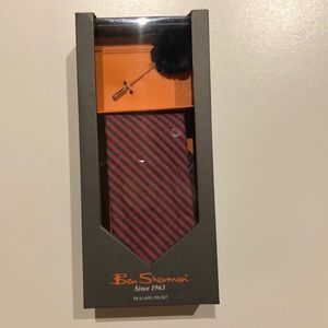 Ben Sherman tie and pin set (gift able)